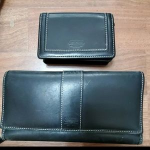 Coach wallet/ coin  bundle